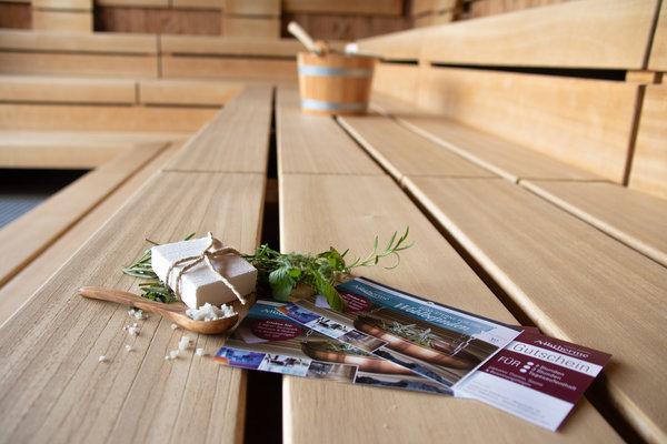 Wertgutschein 22,50 € (z.B. Tageskarte inkl. Sauna)